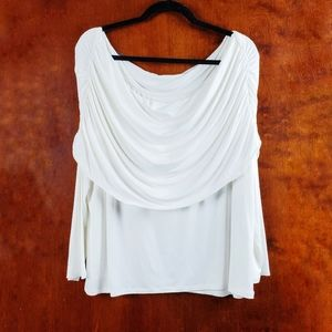 SOFT SURROUNDINGS Avery Off The Shoulder Top XL